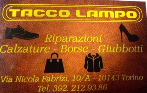 Tacco LampoRiparazioni Calzature, borse, giubbotti